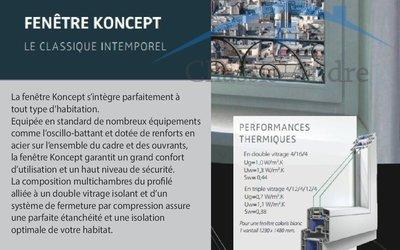 Chassis Andre - Châssis / portes / volets